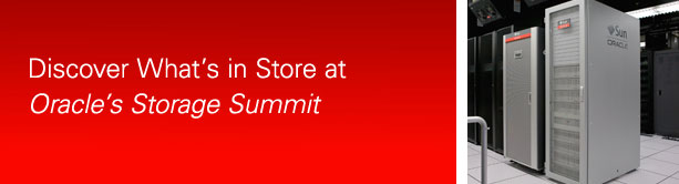 Oracle Storage Summit
