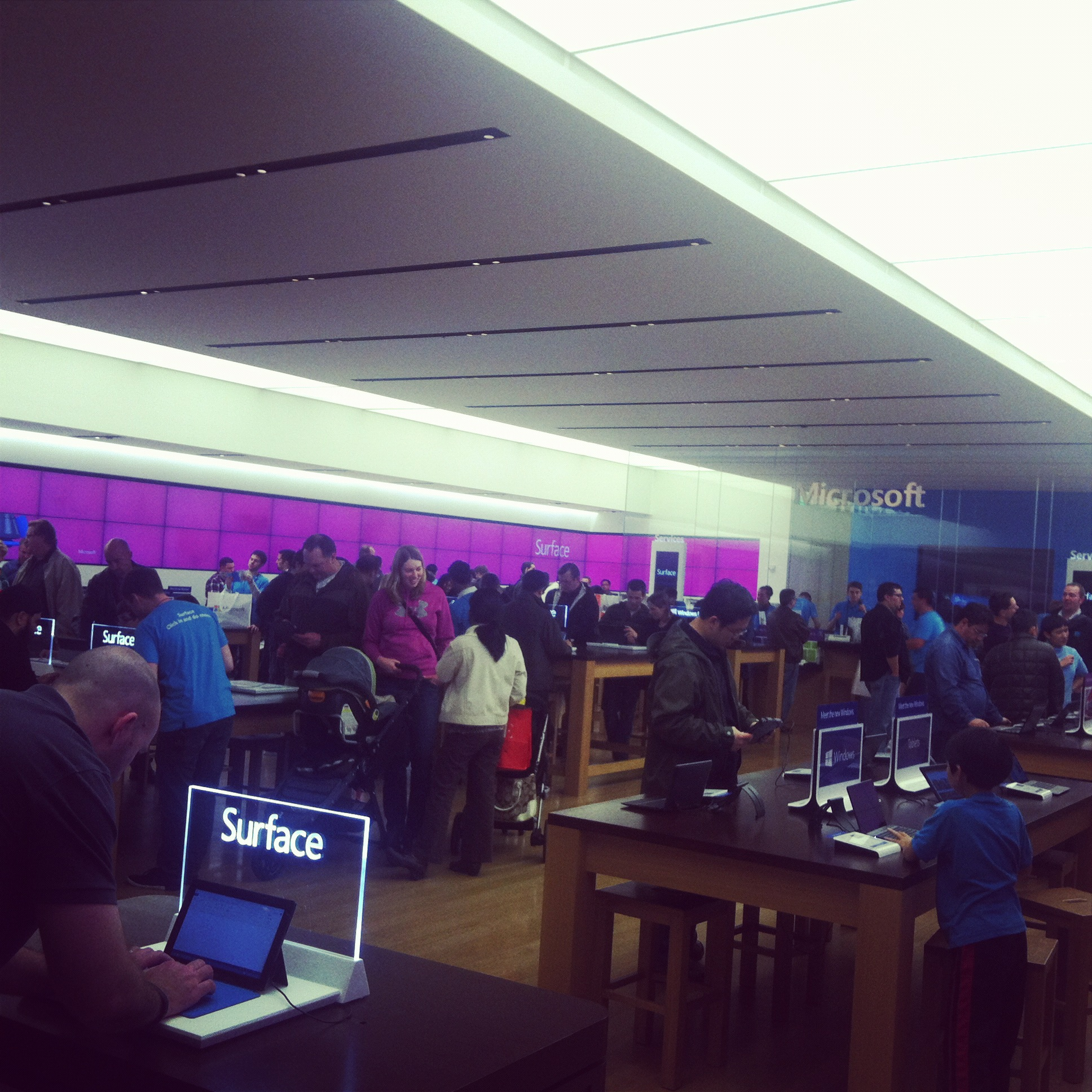 Building 92 microsoft store - Since Microsoft Opened Its Retail Stores
